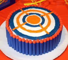 Nerf cake 3